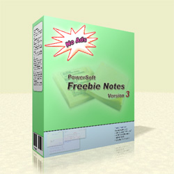 Screenshots of the Freebie Notes...